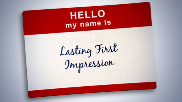 Do you know how to make a lasting first impression?
