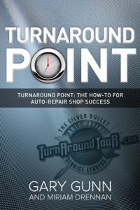 Turnaround Point Book by Gary Gunn