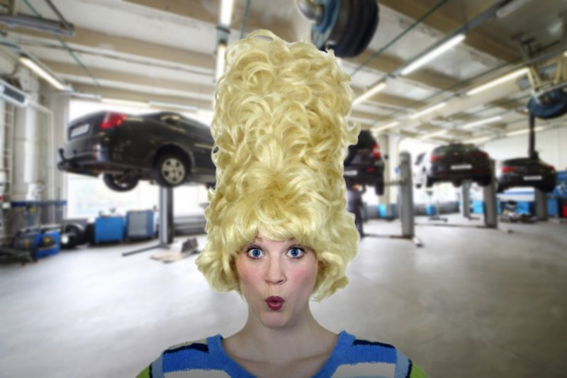 Having some weird problems in your auto repair shop?